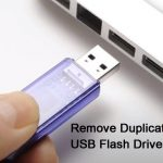 Remove Duplicates from USB Flash Drives