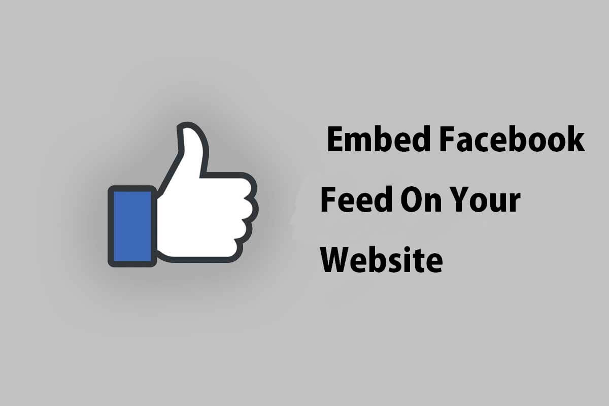 Embed Facebook Feed On Your Website